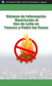 Restricción Temuco, No oficial poster