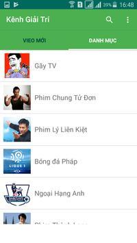 kênh giải trí apk screenshot