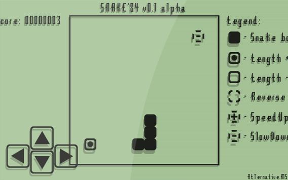 Snake'84 apk screenshot