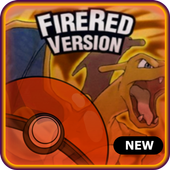 Pokemoon fire red version - new  GBA Classic Game icon