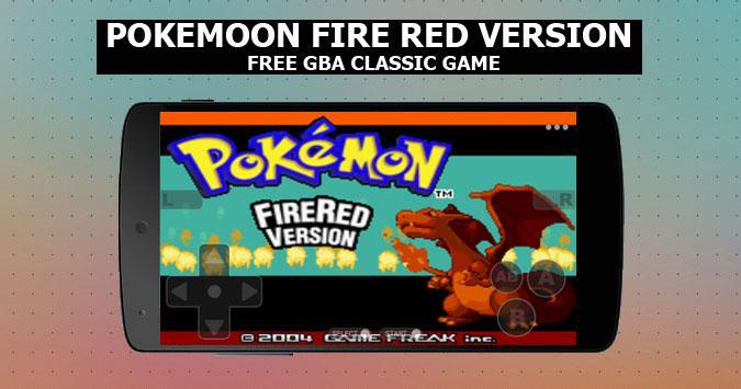 Pokemoon fire red version - new  GBA Classic Game poster