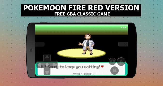 Pokemoon fire red version - new  GBA Classic Game screenshot 1