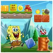Sponge amazing adventure world icon