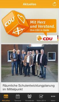 CDU Oelde poster