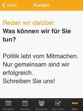 CDU Oelde apk screenshot