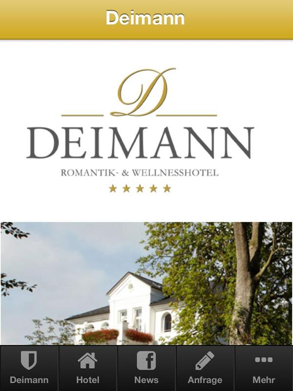 hotel deimann apk baixar gr tis turismo e local aplicativo para android. Black Bedroom Furniture Sets. Home Design Ideas