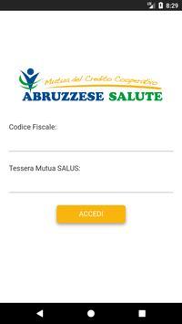 Abruzzese Salute poster