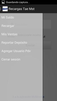 Recargas MST apk screenshot