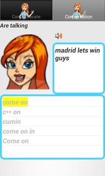 TalkAi - English communication apk screenshot