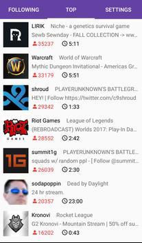 Better Following List screenshot 1