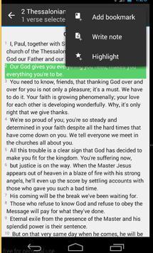 The Message Bible screenshot 3