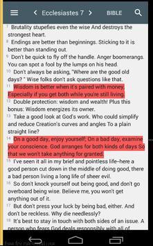 The Message Bible screenshot 4