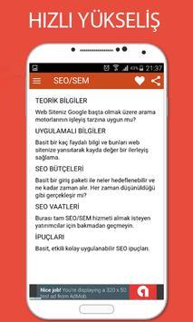 SEO TEKNİKLERİ apk screenshot