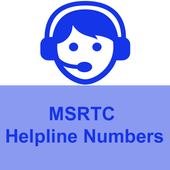 MSRTC Helpline Number icon