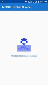 MSRTC Helpline Number apk screenshot