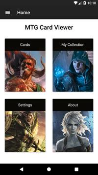 Card Viewer for MTG poster