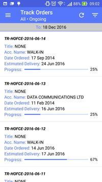 DCL ERP screenshot 1
