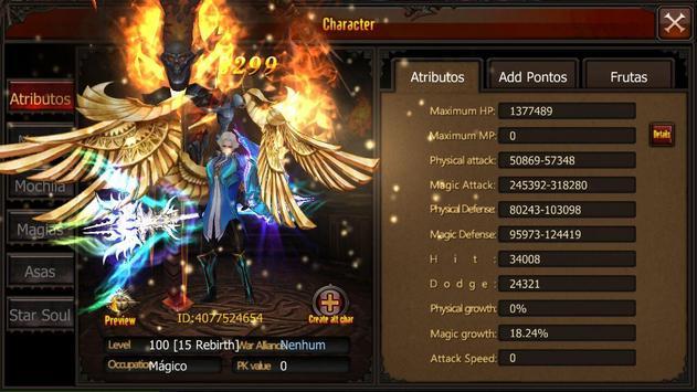 Mu Survivor Mobile Brasil 7.0 screenshot 9