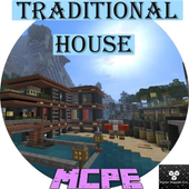 Beautiful house for Minecraft icon