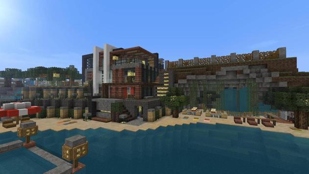 Beautiful house for Minecraft apk screenshot