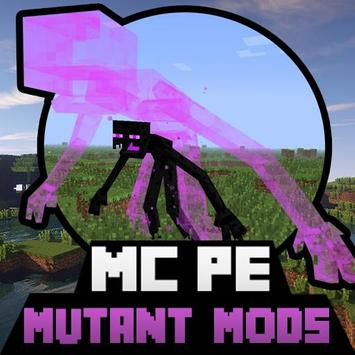 Mutant Creatures MODS For MCPE poster