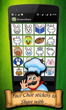Stickers & Emoticon for WeChat apk screenshot