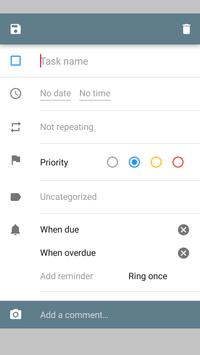 Task list (or todo list, notes, shopping list) screenshot 1