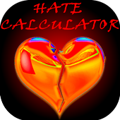 Hate Calculator Prank icon