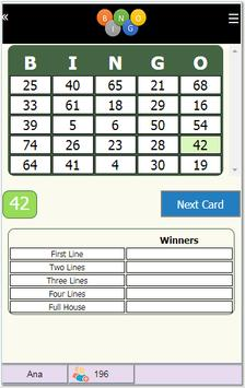 Bingo Online screenshot 3