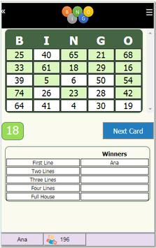 Bingo Online screenshot 4