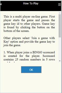 Bingo Online screenshot 7