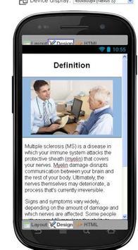 Multiple Sclerosis Information screenshot 1