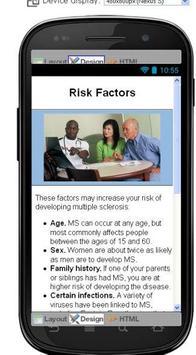 Multiple Sclerosis Information screenshot 4