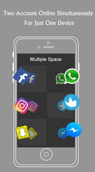 Multiple Space : Multiple Account & Parallel APP poster