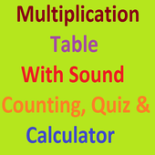 Multiplication Table sound icon