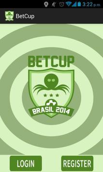 BetCup Brazil 2014 poster