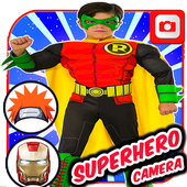 Superhero Camera Photo Editor icon