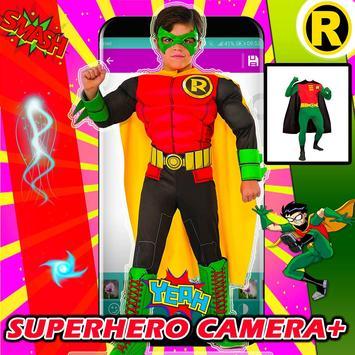Superhero Camera Photo Editor poster
