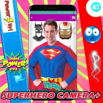Superhero Camera Photo Editor screenshot 3