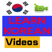Learn Korean by Videos icon