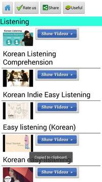 Learn Korean by Videos apk screenshot
