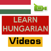 Learn Hungarian by Videos icon