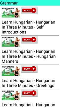 Learn Hungarian by Videos apk screenshot