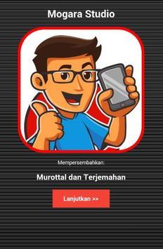 Murottal dan Terjemahan - Arab & Indonesia screenshot 4