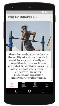 Muscular Endurance Exercises screenshot 4