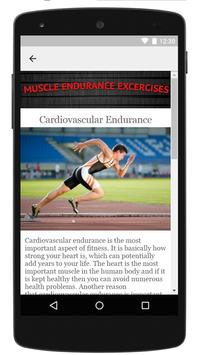 Muscular Endurance Exercises screenshot 2