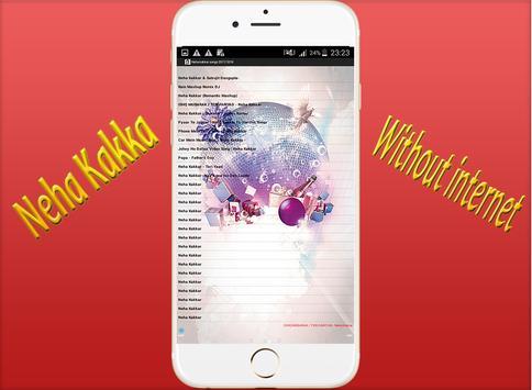 Neha kakkar songs 2017/2018 screenshot 3