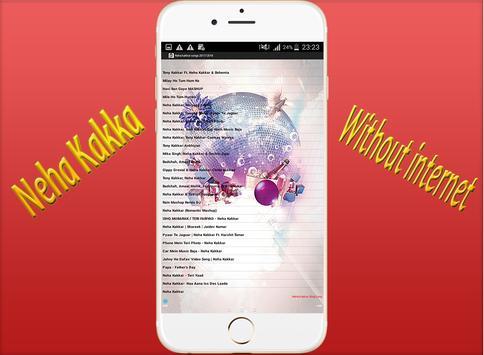 Neha kakkar songs 2017/2018 screenshot 4