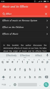Music and its Effects screenshot 2