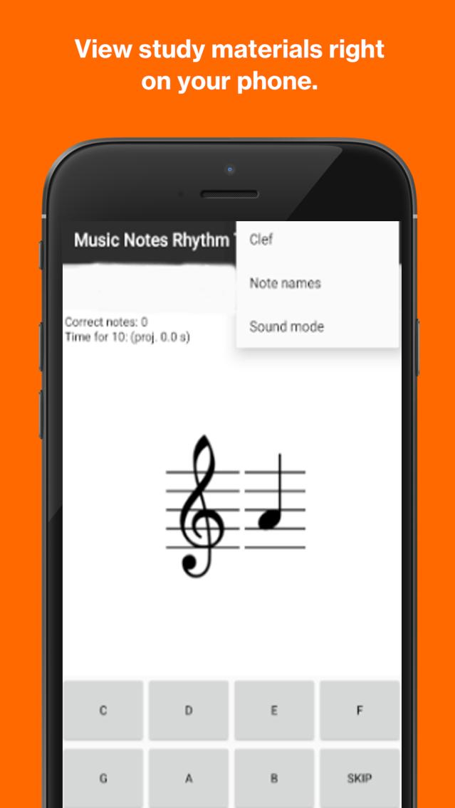 Music Notes Rhythm Trainer  Learn Music Notes  for Android
